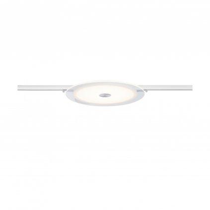 Paulmann downlight Luno, spot pro NanoRail, 1x6,5W LED 3000K stmívatelné, matná bílá, prům.26cm