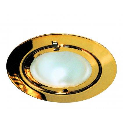 37323 1 paulmann bodovka kulata 1x20w zlata