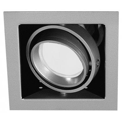Paulmann Cardano, zápustné svítidlo, 1x11W úsporné, 9,5x9,5cm