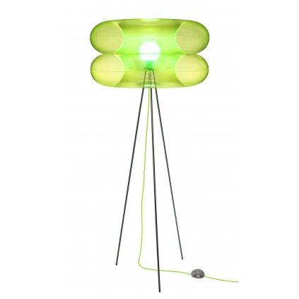 Puff Buff Big Lime, nafukovací zelená stojací lampa, 1x20W E27, výška 170cm