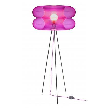 Puff Buff Big Pink, nafukovací růžová stojací lampa, 1x20W E27, výška 170cm
