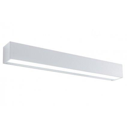 Redo Tratto venkovní bílé nástěnné svítidlo se svícením nahoru/dolů 36W LED 3000K, délka 50cm IP65