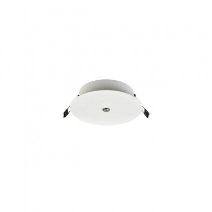 Redo Orbit, bílá stropní rozeta pro zapuštění do sádrokartonu