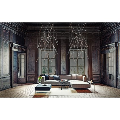 40335 3 studio italia design bila ctvercova rozeta pro max 28 zavesu 140x90cm