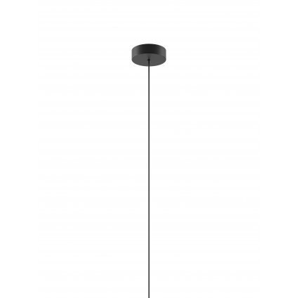 40365 7 studio italia design single mini canopy cerna kulata rozeta pro 1 zaves prumer 8cm