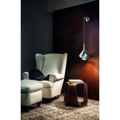 40383 2 studio italia design sky fall wall wall bracket nastenna rozeta pro sky fall chrom prum 12cm