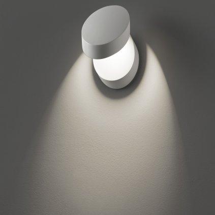 40416 6 studio italia design pin up nastenne svitidlo pro neprime osvetleni 9w led 3000k stmivatelne bila vyska 15 5cm