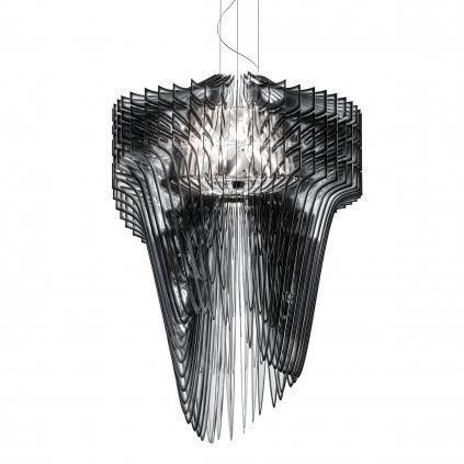 Slamp Aria XL, závěsný světelný objekt od Zaha Hadid, 6x52+1x100W, délka 130cm