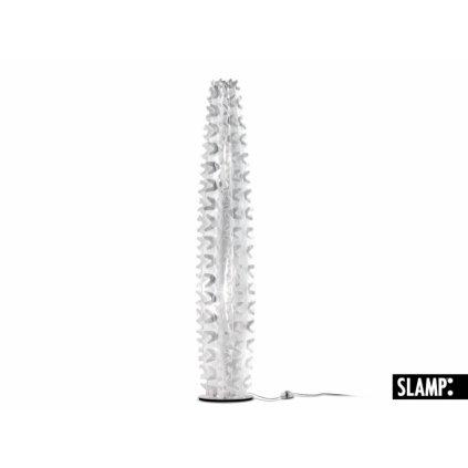 Slamp Cactus Xl Prisma, stojací dekorativní lampička se stmívačem, 2x75W, výška 155cm