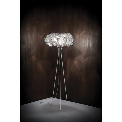 Slamp Clizia Fumé floor, stojací designová lampa, 3x12W E27, výška 155cm