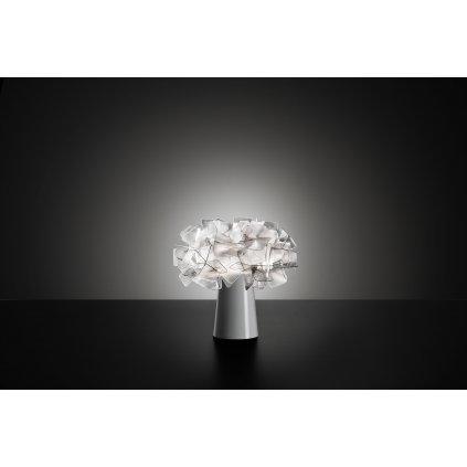 Slamp Clizia Fumé table, stolní designová lampička, 1x6W E14, výška 25cm