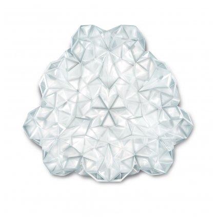 Slamp Drusa, stropní svítidlo z bílého Lentiflexu, 4x8W LED E27, prům. 60cm