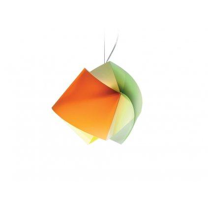 Slamp Gemmy, závěsné svítidlo z Lentiflexu, multicolor, 1x75W, šírka 42cm