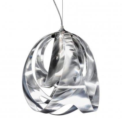 Slamp Goccia Prisma, designové závěsné svítidlo, 1x10W E27,  výška 43cm