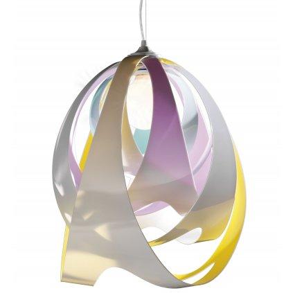 Slamp Goccia Tetra, designové závěsné svítidlo, 1x10W E27,  výška 43cm