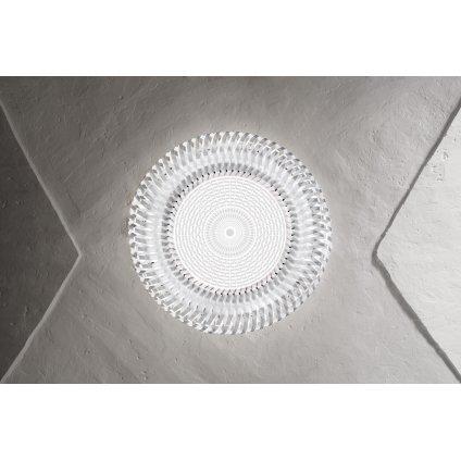 Slamp Kalatos prisma, designové stropní svítidlo, 4x12W E27, prům 63cm