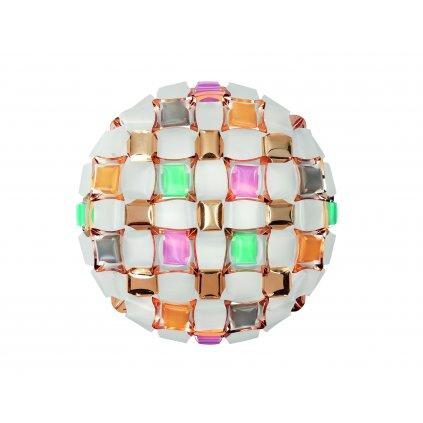 Slamp Mida large, extravagantní svítidlo, 4x12W LED E27, multicolor, prům. 67cm