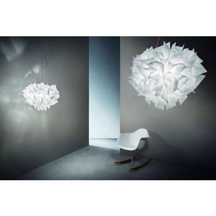 Slamp Veli Couture Suspension, závěsné designové svítidlo, 2x12W E27, prům. 42cm