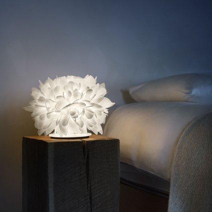 41904 7 slamp veli foliage table stolni designova lampicka 1x6w e14 vyska 28cm
