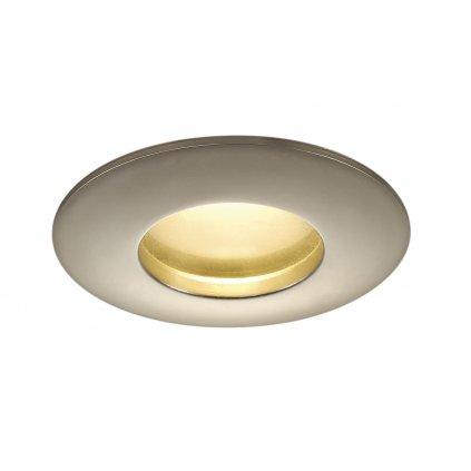 SLV Out 65, titanové zápustné svítidlo, 12W LED 3000K stmívatelné, prům. 8,5cm, IP65