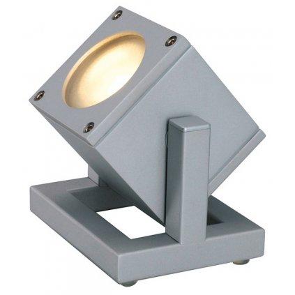 42690 5 slv cubix i lampa 1x35w hlinik 14cm ip44