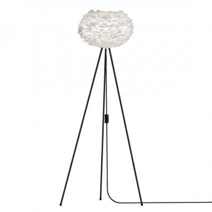 Umage Eos, stínidlo z bílého peří pro závěsné svítidlo, stolní a stojací lampu, 1x15W LED, prům. 45cm