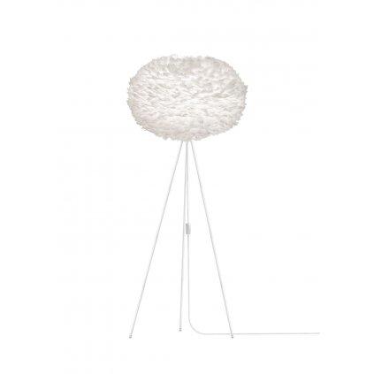 Umage Eos XL, stínidlo z bílého peří pro závěsné svítidlo, stolní a stojací lampu, 1x15W LED, prům. 75cm