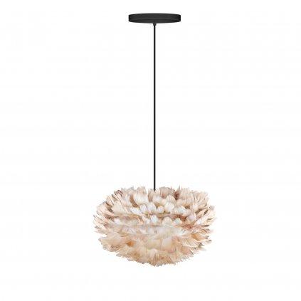 Umage Eos mini, stínidlo ze světle hnědého peří pro závěsné svítidlo, stolní a stojací lampu, 1x15W LED, prům. 35cm
