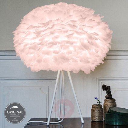 Umage Eos large, stínidlo ze světle růžového peří pro závěsné svítidlo, stolní a stojací lampu, 1x15W LED, prům. 65cm