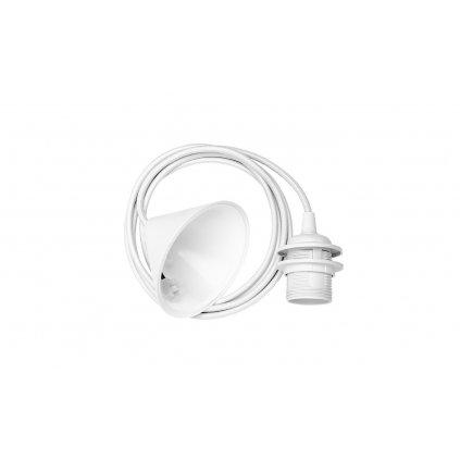 Umage, bílý plastový závěs pro sestavení svítidla, 1x60W E27, 210cm