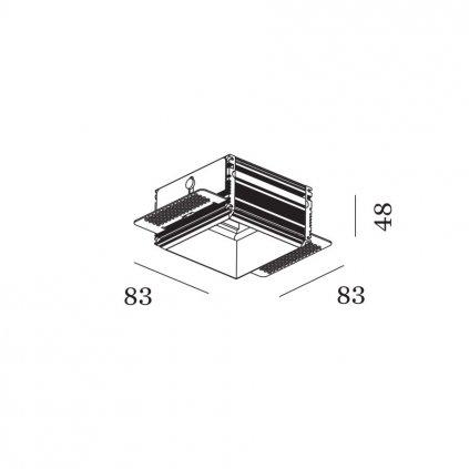 49716 1 wever ducre sneak 1 0 strange 1 0 bezrameckovy instalacni box 8 3x8 3cm