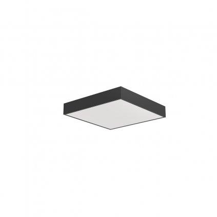 Arelux Xpill Square, černé stropní svítidlo, 40W LED 3000/4000/6000K, 40x40cm