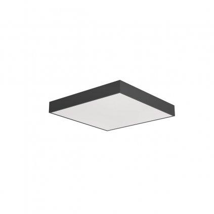 Arelux Xpill Square, černé stropní svítidlo, 50W LED 3000/4000/6000K, 50x50cm