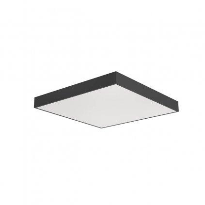 Arelux Xpill Square, černé stropní svítidlo, 60W LED 3000/4000/6000K, 60x60cm