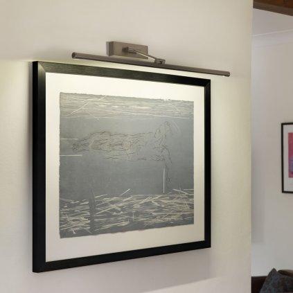 Astro Lighting Goya LED 760, LED svítidlo pro osvětlení obrazu, 1x9,6W LED, 76cm, matný nikl