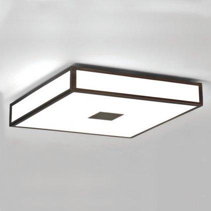Astro Lighting Mashiko 400, stropní svítidlo do koupelny, 4x40W E27, 40x40cm, bronz, IP44
