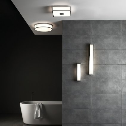 Astro Lighting Mashiko 600 LED, nástěnné svítidlo do koupelny, 10,6W LED 3000K, bronz, 60cm, IP44