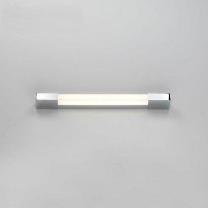 Astro Lighting Romano 600 LED, hranaté koupelnové svítidlo, 8,3W LED 3000K, chrom, délka 60cm, IP44