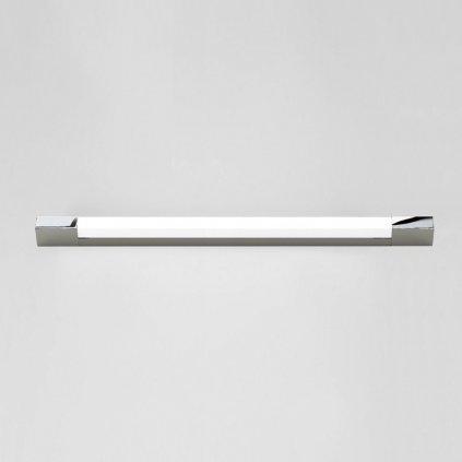 Astro Lighting Romano 900 LED, hranaté koupelnové svítidlo, 10W LED 3000K, chrom, délka 90cm, IP44