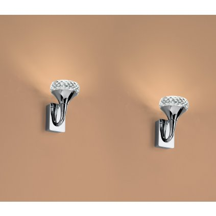 5358 3 axolight fairy designove nastenne svitidlo 1x6 6w led ambrove sklo vyska 14 7cm