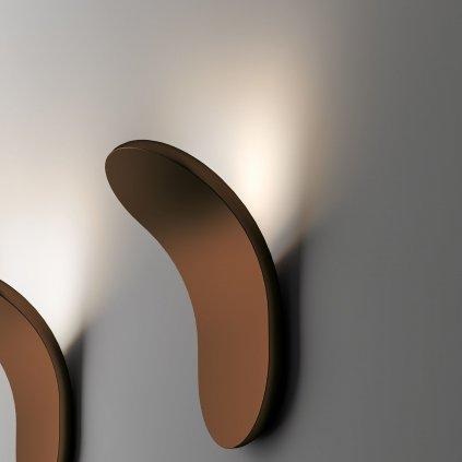Axolight lik bronzove nastenne neprime osvetleni