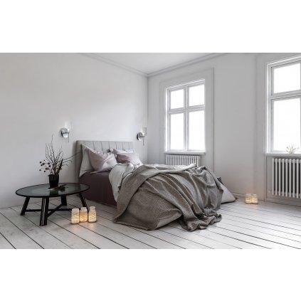 Axolight Spillray R, nástěnné svítidlo z křišťálového skla, LED 1,5W G4 výška 29,3cm