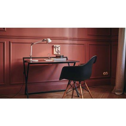 Artemide Tolomeo Micro halo Table, tělo lampy, 1x46W E14, bílá