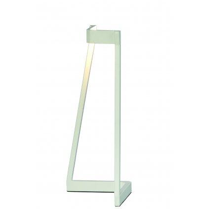 Mantra Minimal, moderní bílá stolní lampa, LED 5W 375lm 3000K, výška 32cm