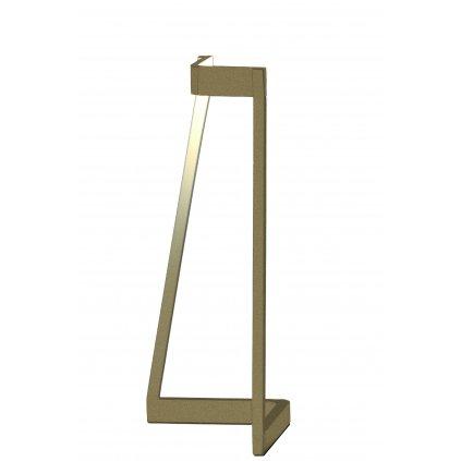 Mantra Minimal, moderní zlatá stolní lampa, LED 5W 375lm 3000K, výška 32cm
