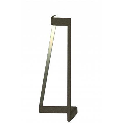 55074 mantra minimal moderni hneda stolni lampa led 5w 375lm 3000k vyska 32cm