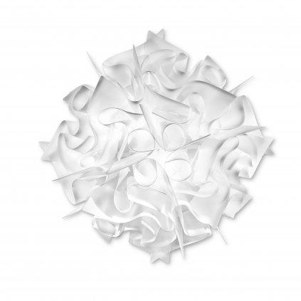 Slamp Veli opal medium, stropní svítidlo z bílého opalflexu, 2x12W E27, prům. 53cm