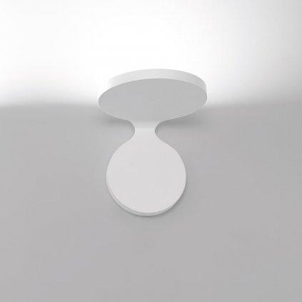Artemide Rea 17 White, nástěnné svítidlo pro nepřímé osvětelní,  25W LED 3000K, šířka 17cm