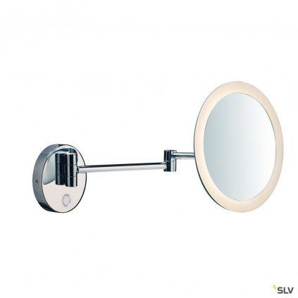 55554 slv maganda wl nastenne zvetsovaci zrcatko s osvetlenim led 4 8w 2700 3000 4000k chrom prumer 21 6cm