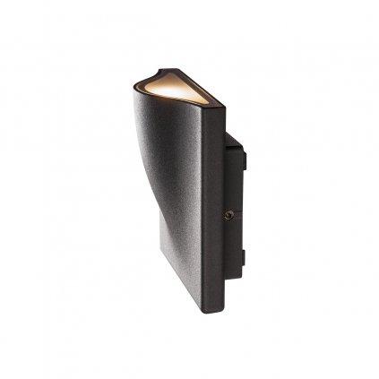 SLV Vilua, venkovní nástěnné svítidlo, LED 8,3W 3000K, 12x12cm, IP54